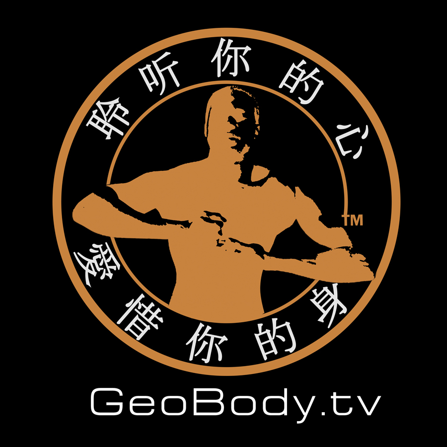 Geobody.tv Logo in mandarin